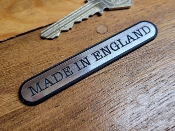 """Made in England Ovoid Style Laser Cut Self Adhesive Bike Badge - 1.75"""" or 3"""""""