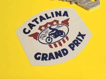 "Catalina Grand Prix Sticker 2.5"""