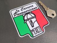 La Carrera Panamerica Mexico Circuit Sticker 2.75
