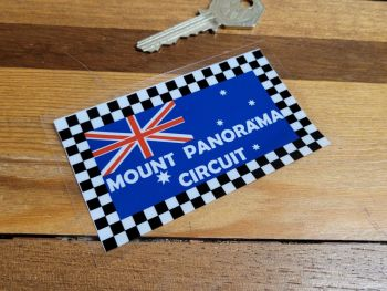 "Mount Panorama Circuit Style Car Sticker 3.75"""
