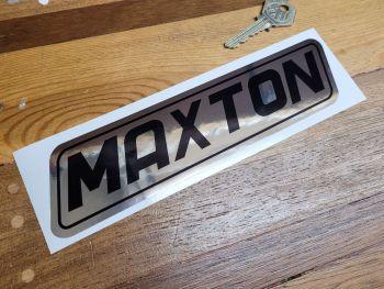 """Maxton Black & Foil Sticker - 8"""""""