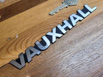 "Vauxhall Text Self Adhesive Car Badge - 6.75"""
