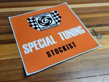 """British Leyland Specialist Tuning Stockist Sticker - 12"""""""