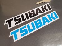 Tsubaki Font Shaped Oblong Stickers - 7