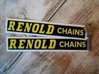 Renold Chains Horizontal Text Stickers. 7