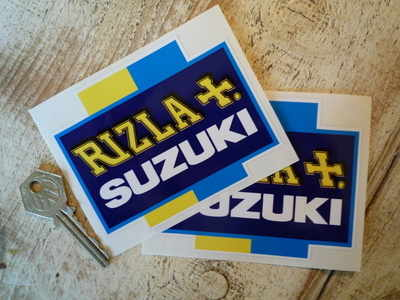 Suzuki Rizla Moto GP Cross Stickers 4