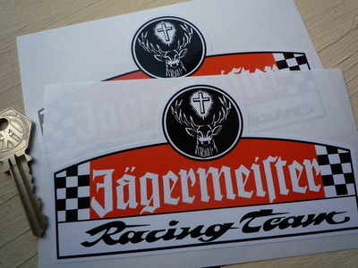 Jagermeister Racing Team Stickers. 6