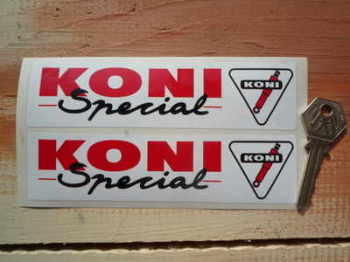 "Koni Special Oblong Stickers. 6"" Pair."