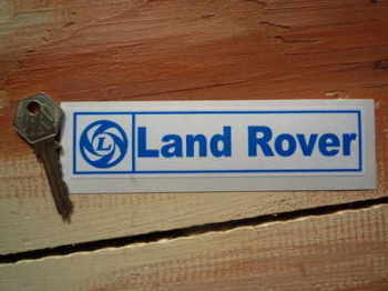"Land Rover British Leyland Sticker. 6""."