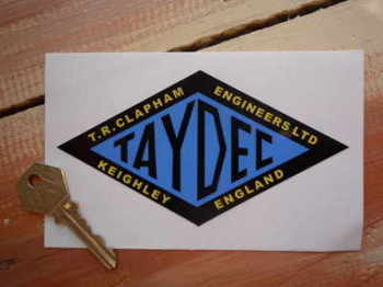 Taydec Engineers Ltd Diamond Sticker 5.5""