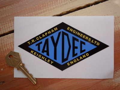 Taydec Engineers Ltd Diamond Sticker 5.5