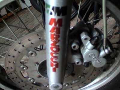 Marzocchi Clear Fork Slider Stickers. 5