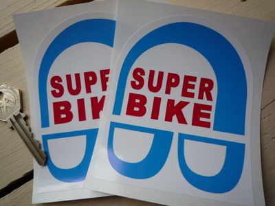 Super Bike Stickers. 3.5