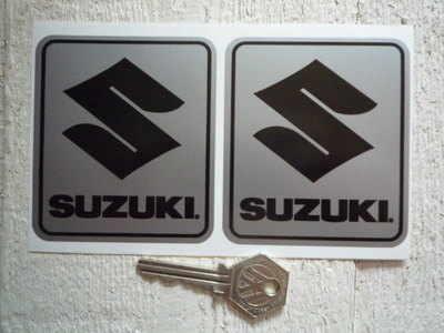 Suzuki S Square Stickers. 3