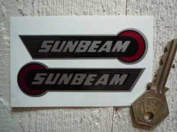 "Sunbeam Handed Stickers. 3.5"" Pair."