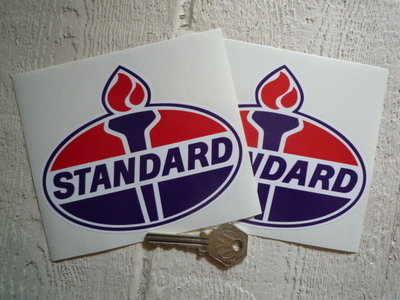 Standard Oil Torch Stickers. 5
