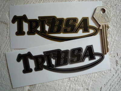 Tribsa Shaped Text Stickers. 4.5