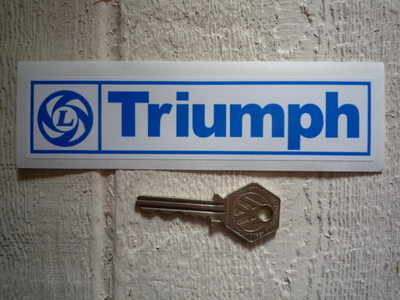 Triumph British Leyland Sticker. 6