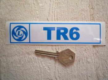 """Triumph British Leyland TR6 Sticker. 6""""."""