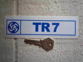 """Triumph British Leyland TR7 Sticker. 6""""."""
