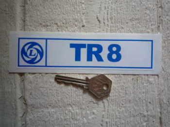 """Triumph British Leyland TR8 Sticker. 6""""."""