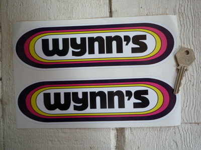 "Wynn's Rainbow Stickers. 4"", 6"", 8.5"", 10"" or 12"" Pair."