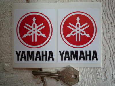 Yamaha Logo Stickers. 2.25