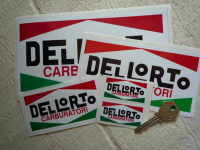 Dellorto Carburatori Oblong Stickers. 2