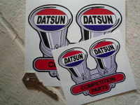 Datsun Competition Parts Shaped Sticker. 4