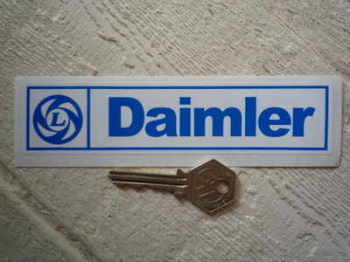 "Daimler British Leyland Sticker. 6""."