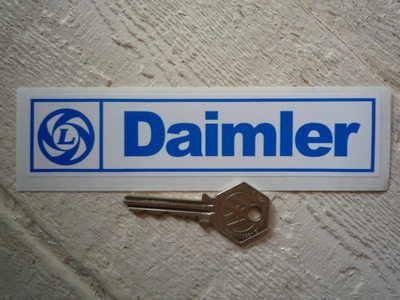 Daimler British Leyland Sticker. 6