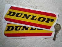 Dunlop Red & Yellow Classic Stickers. 5