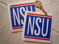 NSU Classic Square Stickers. 2