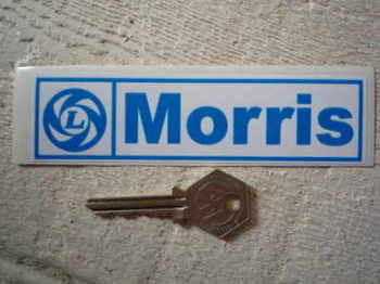 "Morris British Leyland Oblong Sticker. 5""."