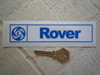 "Rover British Leyland Sticker. 6""."