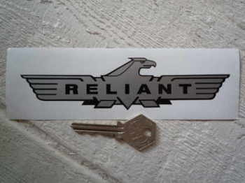 "Reliant Eagle Sticker. 3"", 6"", or 12""."
