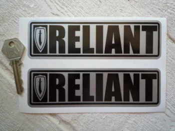 "Reliant Scimitar Oblong Stickers. 6"" Pair."