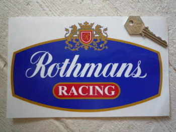 "Rothmans Red Racing with Gold Outline Sticker. 6"", 8"", 10"", or 12""."