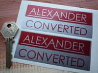Alexander Converted