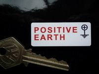 Negative/Positive Earth