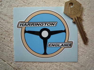 "Harington England Sunbeam Steering Wheel Sticker. 3""."