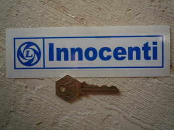 "Innocenti British Leyland Sticker. 6""."
