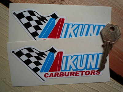 Mikuni Carburetors Stickers. 5