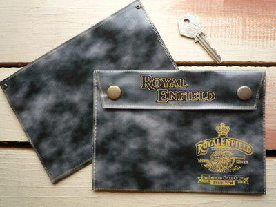 Royal Enfield Small Document Holder/Toolbag.