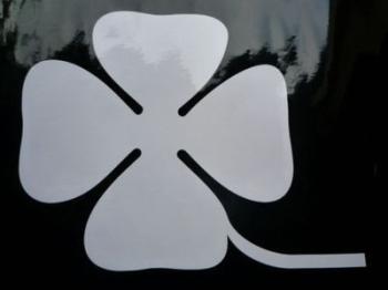 """Alfa Romeo Quadrafoglio Competition Racing Stickers. 4"""" or 8"""" Pair."""