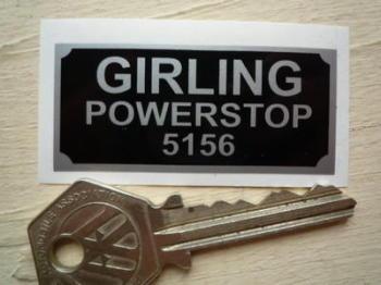 "Girling Powerstop 5156 Sticker. 2""."