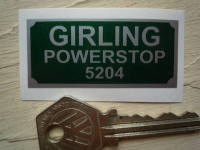 Girling Powerstop 5204 Sticker. 2