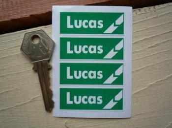 """Lucas Green Break Stickers. Set of 4. 2""""."""