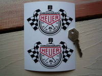 Chronograph Heuer Stopwatch Lick n Sticker Stickers. 4