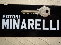 Motori Minarelli Cut Vinyl Sticker. 5